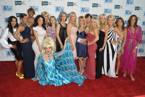 The Real Housewives of Orange County, New York City and Atlanta at Bravo's 2nd Annual A-List Awards