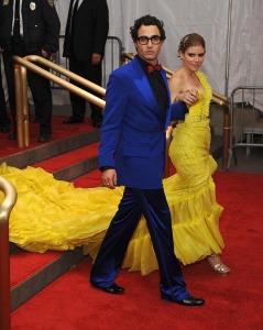 Zac Posen & Kate Mara at 2008 Gala