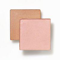 Bronze Shimmer Behind Pink