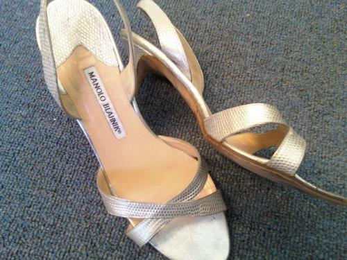 My Manolo Blahnik's purchased for $80