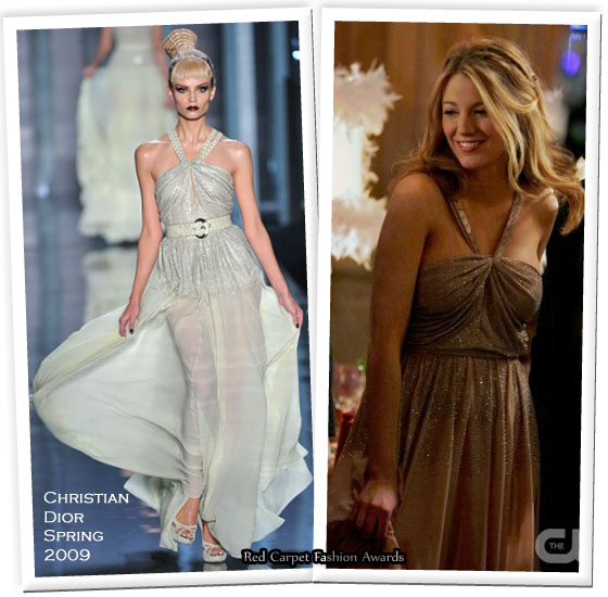 Gossip Girl Prom Dresses Revealed See The Glam Gowns That