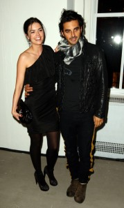 Katie with Yigal Azrouel