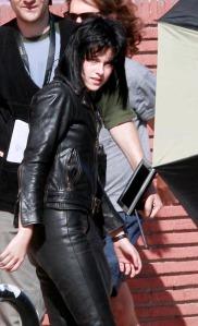 Kristen Stewart On The Set Of 'The Runaways' 2