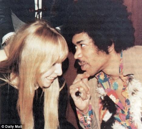 Jimi Hendrix and Monika