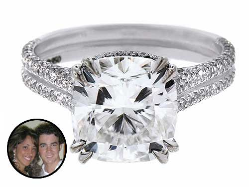 Kevin Jonas's Engagement Ring for Danielle Deleasa ...