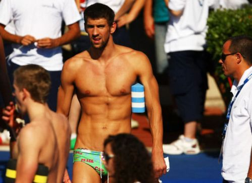 MPhelps shirtless