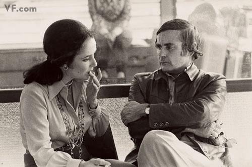 Dunne and Elizabeth Taylor