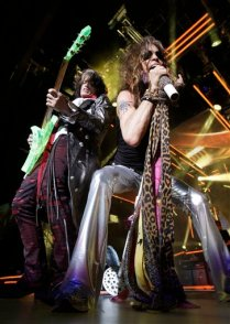 APTOPIX Music Aerosmith